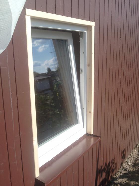 Fenster und Rahmen