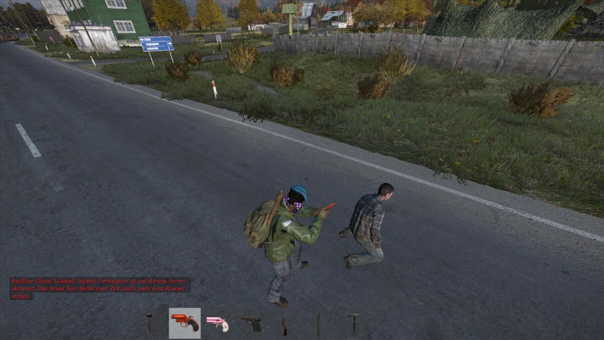 Zombie Hinrichtung...