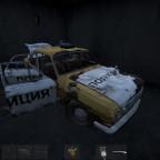 polizeiauto in severograd gesehen